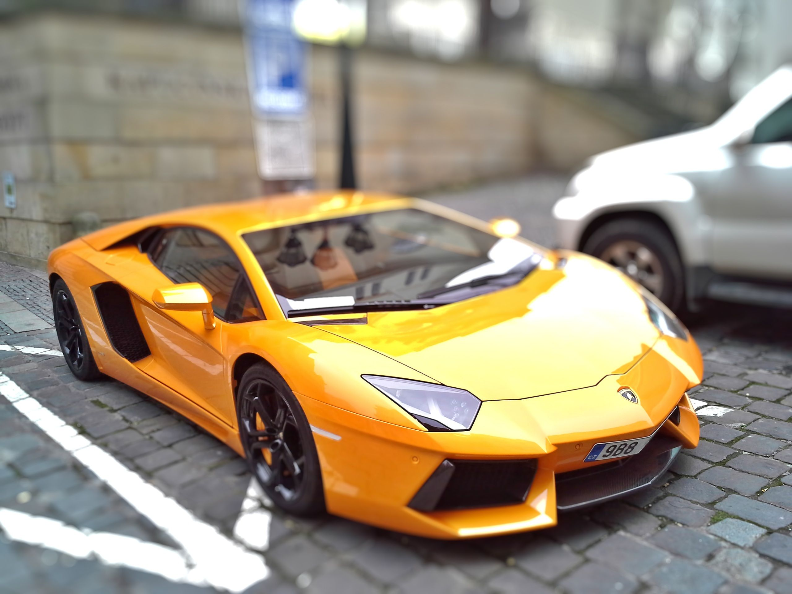 przejazd Lamborghini